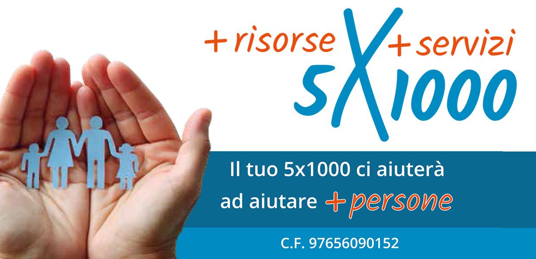 Dona il tuo 5x100 alla Fondazione Guzzetti
